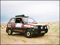 The Fiat Panda in the Sahara