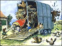 Cartoon by Norman Thelwell