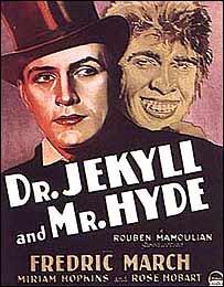 Afiche de la película 'Dr. Jekyll and Mr. Hyde' (1931)