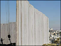 Picture of The Wall in Palestine.