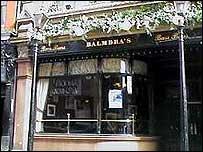 Balmbra's pub