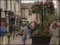 Summer in Bury St Edmunds