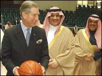 Prince Charles and Sultan Prince