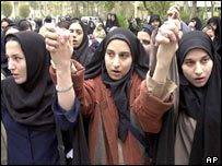 Student protest, Tehran