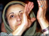 Nobel prize winner and Iranian human rights activist Shirin Ebadi