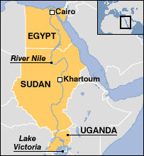 BBC NEWS Africa Diary of Nile river adventure