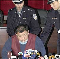 Tung Tai-ping, accused by China of being a Taiwanese spy