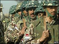 Iraq Civil Defence Corps (ICDC) members