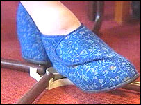 Safety slippers for elderly