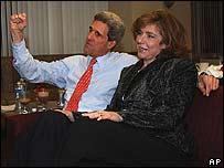 John Kerry, precandidato demócrata a la presidencia de EE.UU.