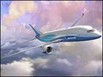 Boeing's 7E7 jet