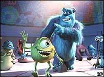 Monsters Inc, (Disney)
