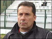 Mali coach Henri Stambouli