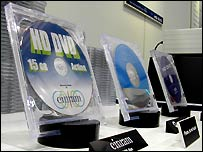 HD DVD discs