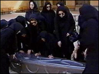 Zahra's funeral