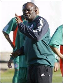 Nigeria coach Christian Chukwu