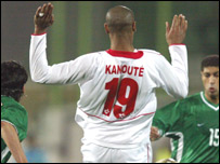 Mali's Frederic Kanoute