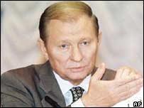 Ukranian President Leonid Kuchma