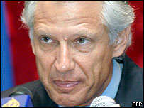 French Foreign Minister Dominique de Villepin