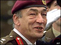 Chief of the General Staff Sir Mike Jackson give evidence