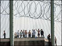 Protest at Wealstun prison