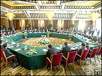 Six-nation talks underway in Beijing