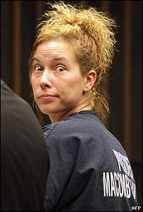 Kimberly Mathers in court