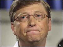 Microsoft chairman Bill Gates, AP