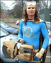Angle-grinder Man