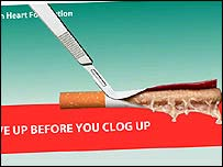 British Heart Foundation ad