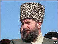 Former Chechen President Zelimkhan Yanderbiyev