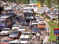 Traffic, Tehran