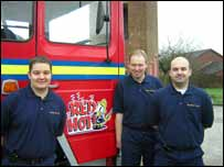 Treorchy firefighters