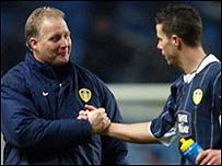 Kevin Blackwell (left) and Ian Harte