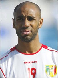 Mali striker Frederic Kanoute