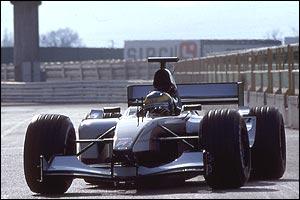 The new Minardi makes its debut at Misano