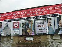 Anti-drugs sign