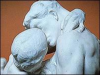 El Beso, de Rodin.