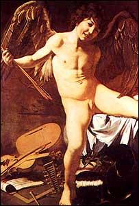 Amor, de Caravaggio