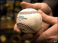 'Cursed' Chicago Cubs ball