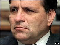 Boris Trajkovski, presidente de Macedonia.