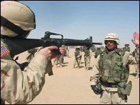 Entrenamiento militar estadounidense