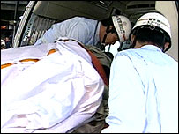 Aum gas attack casualty