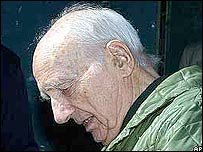 Convicted Nazi collaborator Maurice Papon