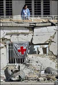 Sede del Comit� Internacional de la Cruz Roja en Bagdad