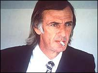 C�sar Luis Menotti, t�cnico de Argentina en los mundiales de 1978 y 1982