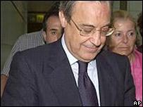 Florentino P�rez, directivo del Real Madrid