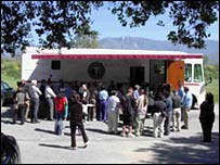 Indian Health Center Mobile healthcare unit