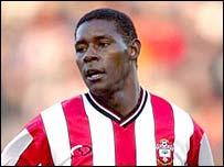 Southampton striker Agustin Delgado