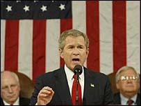 George Bush, presidente de los Estados Unidos